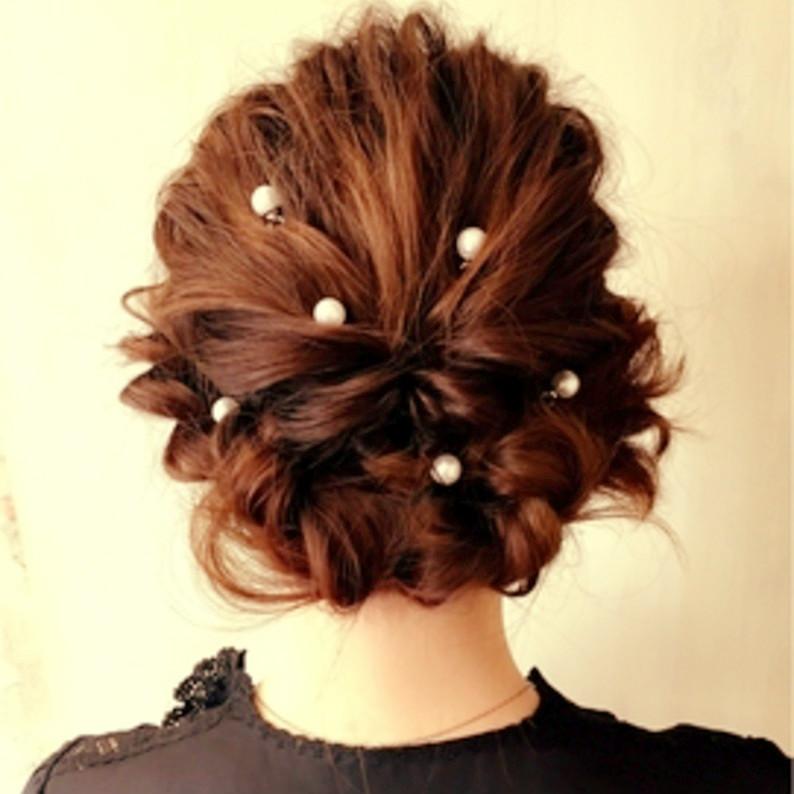ミディアムの【結婚式にぴったりな髪型】がおしゃれで可愛い ...