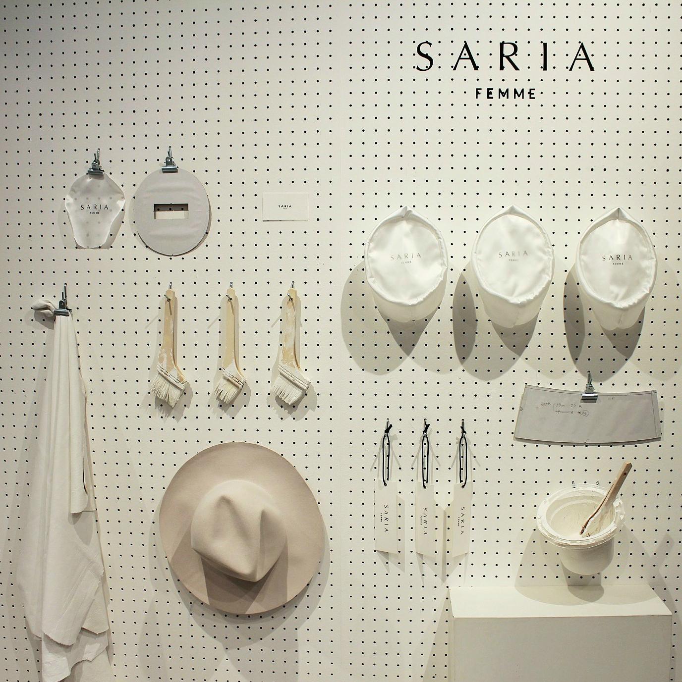 新ブランド「SARIA FEMME」がデビュー!デザイナー大畑ありささんにも直撃