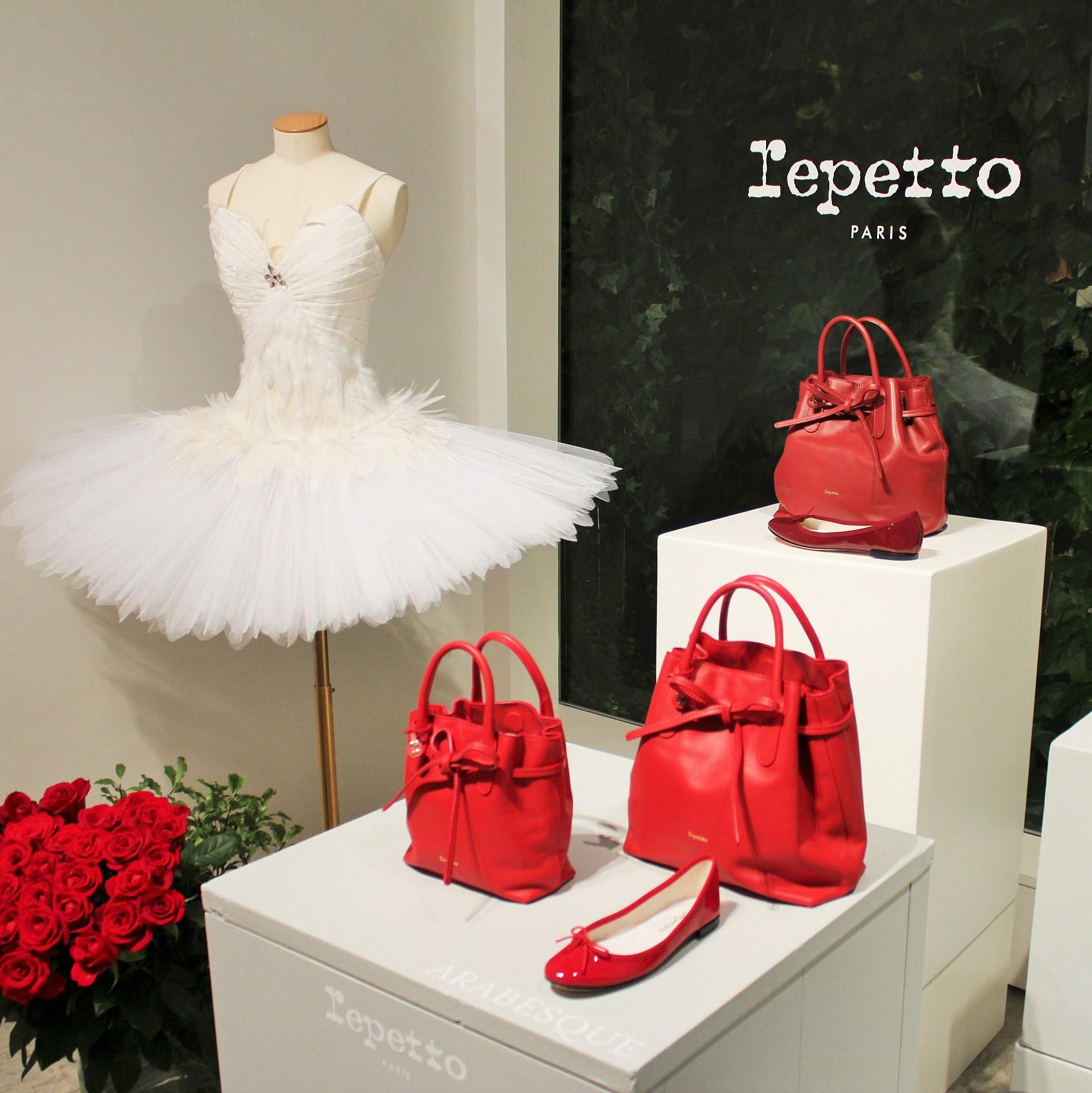 パリジェンヌを思わせる!レペットから新しく生まれ変わったバッグコレクションが登場