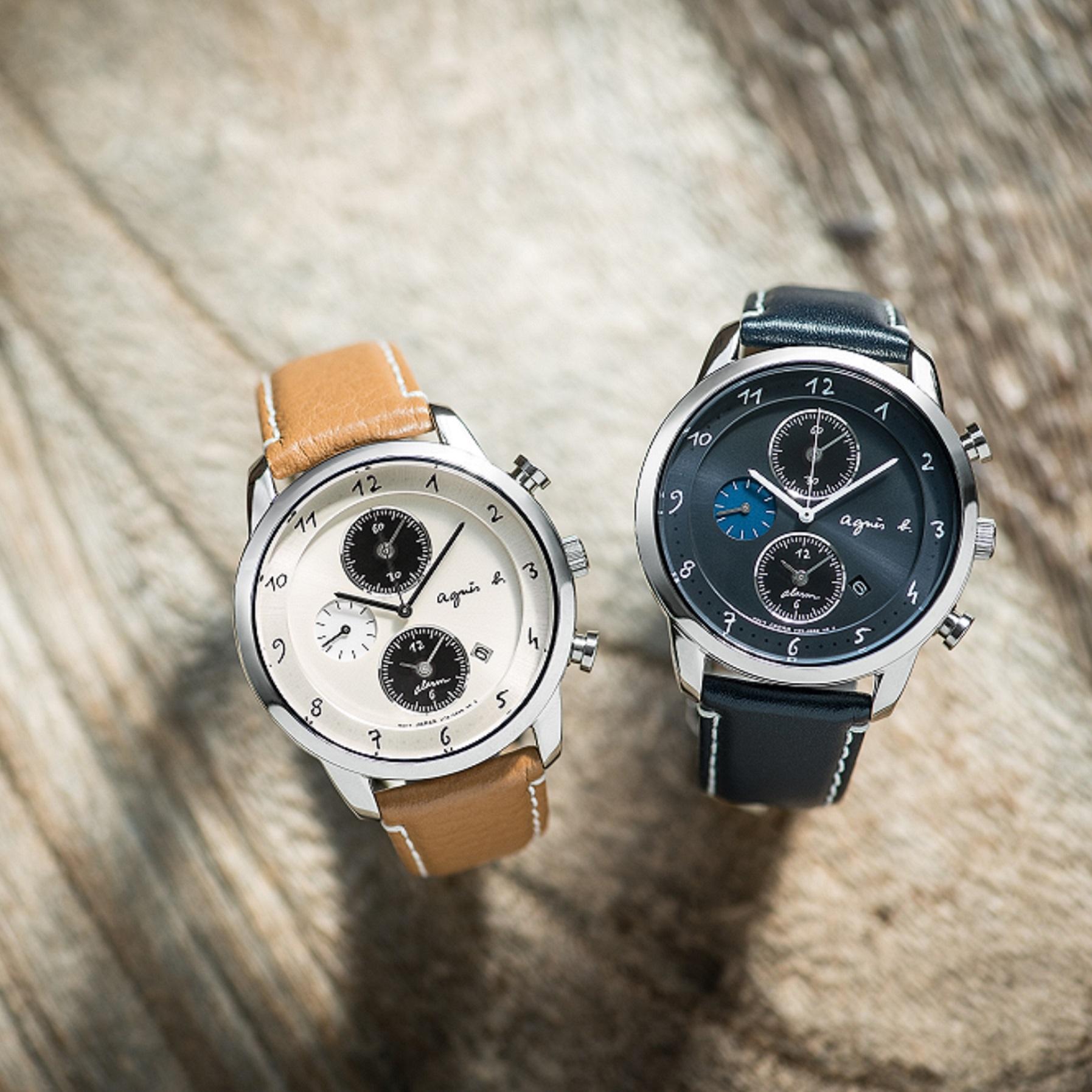 春こそ、新しい私にアップデート!おしゃれに寄り添う「アニエスベー」の時計♡